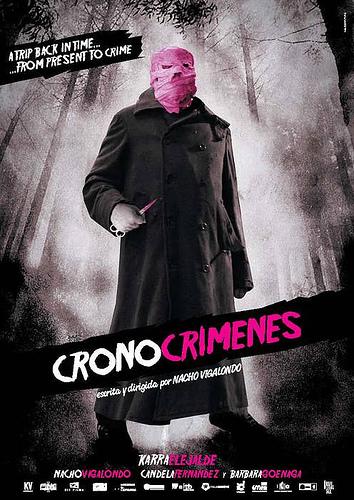 Póster oficial para Los Cronocrímenes
